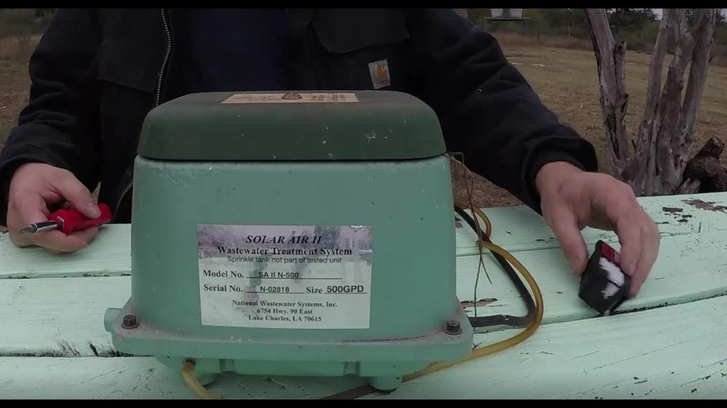 Septic tank aerator - Greater Houston Septic Tank & Sewer Experts